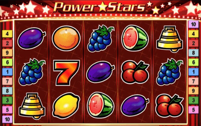 รีวิวเกมสล็อต Power stars