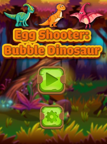 เกมส์ยิงไข่ไดโนเสาร์จับคู่ Egg Shooter Bubble Dinosaur Game