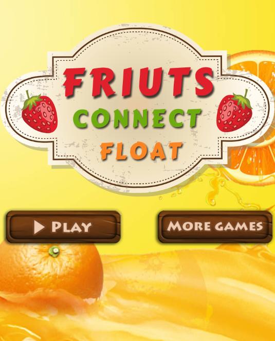 เกมส์จับคู่เชื่อมโยงผลไม้ Fruits Float Connect Game