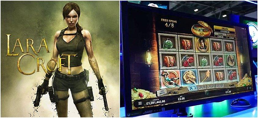 แนะนำ Lara Croft จากเกมส์ออนไลน์สู่เกมส์สล๊อต