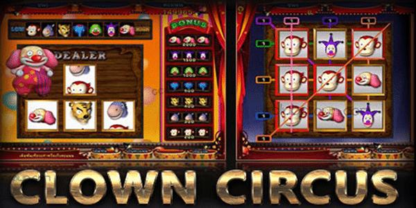 แนะนำเกมสล็อตตัวตลก CIRCUS CLOWN สนุกสุดโบนัสปัง
